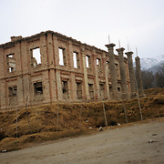 December 2004<br /> Nothing was left but the outer framework.<br /> Photo: N.H.Dupree