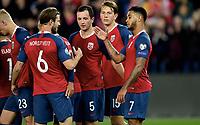 Fotball, 5. september  2019 , Euro -qual , Norge - Malta<br /> Norway - Malta<br /> Joshua King , Even Hovland , Sander Berge , Håvard Nordtveit Havard Nordtveit , Norge