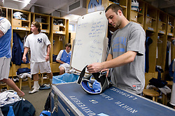 05 April 2008: North Carolina Tar Heels midfielder Rob Driscoll (40) before playing the Virginia Cavaliers in Chapel Hill, NC.