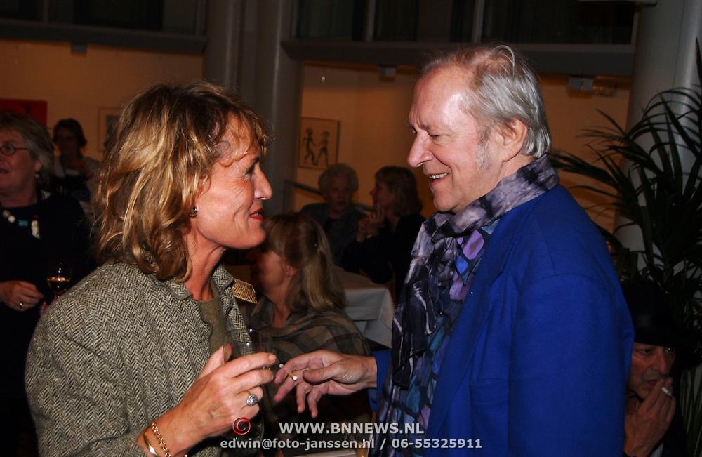 Presentatie biografie boek Liesbeth List, Annemarie Oster in gesprek met Ramses Shaffy