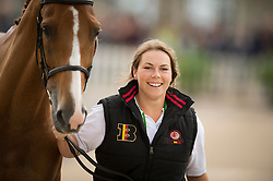 Karin Donckers, (BEL), Lamicell Unique - First Horse Inspection  - Alltech FEI World Equestrian Games™ 2014 - Normandy, France.<br /> © Hippo Foto Team - Shannon Brinkman<br /> 25/06/14