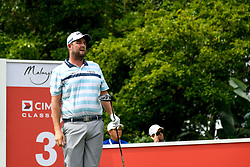 October 13, 2018 - Kuala Lumpur, Malaysia - Marc Leishman of Australia in action during the third round of the CIMB Classic at TPC Kuala Lumpur on 13 .October, 2018 in Kuala Lumpur, Malaysia  (Credit Image: © Chris Jung/NurPhoto via ZUMA Press)