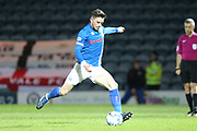 GOAL Ian Henderson scores from the penalty spot 3-0 during the EFL Sky Bet League 1 match between Rochdale and Port Vale at Spotland, Rochdale, England on 28 February 2017. Photo by Daniel Youngs.