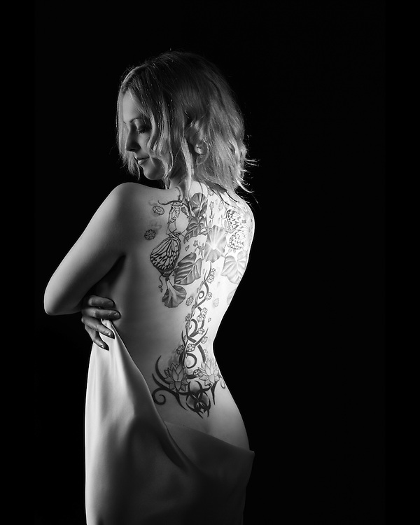 Vanessa's tattoo by Victoria Lundberg
