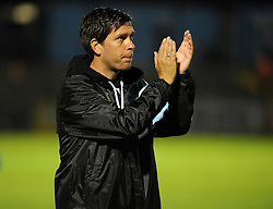 Bristol Rovers Manager Darrell Clarke after the win over Wycombe Wanderers - Mandatory byline: Neil Brookman/JMP - 07966 386802 - 06/10/2015 - FOOTBALL - Memorial Stadium - Bristol, England - Bristol Rovers v Wycombe Wanderers - JPT Trophy