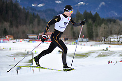 SHAPTSIABOI Vasili Guide: LEBEDZEU Mikhail, BLR at the 2014 IPC Nordic Skiing World Cup Finals - Middle Distance