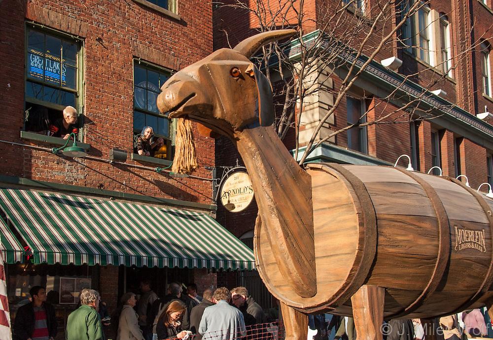 Bockfest Parade Over the Rhine Cincinnati Ohio
