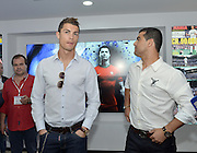 Funchal, Madeira island, 15th December 2013<br /> CRISTIANO RONALDO INAUGURATES HIS MUSEUM.<br /> <br /> The football star arrived in his birth land, the Island of Madeira, for the inauguration of the Museum CR7.<br /> Cristiano Ronaldo was accompanied by his girlfriend Irina Shayk, and his relatives. Cristiano Ronaldo opened the museum, displaying his was statue, <br /> ©Exclusivepix