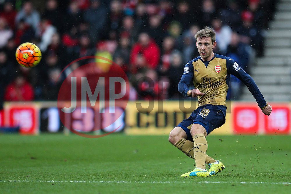 Nacho Monreal of Arsenal in action - Mandatory by-line: Jason Brown/JMP - Mobile 07966 386802 07/02/2016 - SPORT - FOOTBALL - Bournemouth, Vitality Stadium - AFC Bournemouth v Arsenal - Barclays Premier League