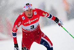 Chris Jespersen of Norway during Mans 9km Classic (Final climb) mass start of the Tour de Ski 2014 of the FIS cross country World cup on January 5th, 2014 in Cross Country Centre Lago di Tesero, Val di Fiemme, Italy. (Photo by Urban Urbanc / Sportida)