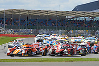 Roman Rusinov (RUS) / Natnanael Berthon (FRA) / Rene Rast (DEU) #26 G-Drive Racing Oreca 05 Nissan, during opening laps of the race as part of the WEC 6 Hours of Silverstone 2016 at Silverstone, Towcester, Northamptonshire, United Kingdom. April 17 2016. World Copyright Peter Taylor.