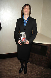 Writer A L KENNEDY winner of the Costa Book of the Year with her book 'Day' at the 2007 Costa Book Awards held at The Intercontinental Hotel, One Hamilton Place, London W1 on 22nd January 2008.<br /> <br /> NON EXCLUSIVE - WORLD RIGHTS (EMBARGOED FOR PUBLICATION IN UK MAGAZINES UNTIL 1 MONTH AFTER CREATE DATE AND TIME) www.donfeatures.com  +44 (0) 7092 235465