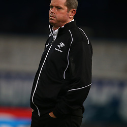 DURBAN, SOUTH AFRICA - JULY 15: Sean Everitt (Assistant Coach) of the Cell C Sharks during the Super Rugby match between the Cell C Sharks and Sunwolves at Growthpoint Kings Park on July 15, 2016 in Durban, South Africa. (Photo by Steve Haag/Gallo Images)