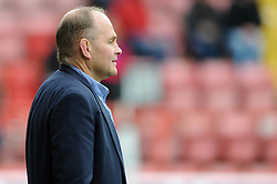 Bristol's director of rugby, Andy Robinson looks on - Photo mandatory by-line: Dougie Allward/JMP - Mobile: 07966 386802 - 12/10/2014 - SPORT - Rugby - Bristol - Ashton Gate - Bristol Rugby v Connacht Eagles - B&I Cup