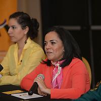Toluca, México (Octubre 11, 2016).- Mariana Sánchez Garay, Directora Ejecutiva de la Fundación UAEMéx, anuncio la carrera atlética Night Race All You Need Is Run, que se realizara el 19 de noviembre, con el fin de obtener fondos para beca a más universitarios.  Agencia MVT / Crisanta Espinosa.