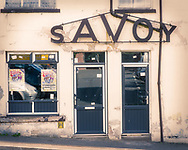 The Savoy fast food shop, closed, Brechin, Angus, Scotland