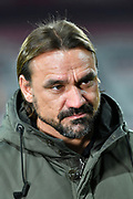 Norwich manager Daniel Farke during the EFL Cup 4th round match between Bournemouth and Norwich City at the Vitality Stadium, Bournemouth, England on 30 October 2018.