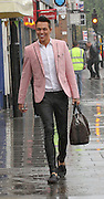 16.OCTOBER.2013. ESSEX<br /> <br /> (CODE - MAG)<br /> BOBBY NORRIS SPOTTED SHOPPING IN THE RAIN WEARING A PINK BLAZER<br /> <br /> BYLINE: EDBIMAGEARCHIVE.CO.UK<br /> <br /> *THIS IMAGE IS STRICTLY FOR UK NEWSPAPERS AND MAGAZINES ONLY*<br /> *FOR WORLD WIDE SALES AND WEB USE PLEASE CONTACT EDBIMAGEARCHIVE - 0208 954 5968*