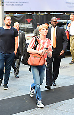 Exclusive: Chelsea Manning strolls through Times Square - 13 June 2017
