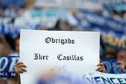 May 6, 2018 - Porto, Porto, Portugal - Porto's Iker Casillas fans in action during the Premier League 2017/18 match between FC Porto and CD Feirense, at Dragao Stadium in Porto on May 6, 2018. (Credit Image: © Dpi/NurPhoto via ZUMA Press)