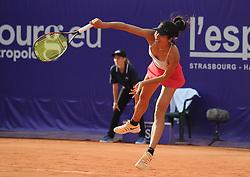 May 23, 2018 - France - SU-WEI HSIEH of Taipei at Internationaux de tennis de Strasbourg. (Credit Image: © Panoramic via ZUMA Press)