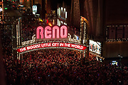 A scene from the 2012 Reno Santa Crawl in downtown Reno, NV on Saturday, Dec. 15, 2012.<br /> (Photo by Kevin Clifford)