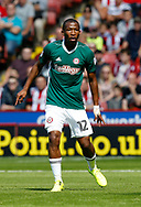 Kamohelo Mokotjo of Brentford during the English Championship League match at Bramall Lane Stadium, Sheffield. Picture date: August 5th 2017. Pic credit should read: Simon Bellis/Sportimage