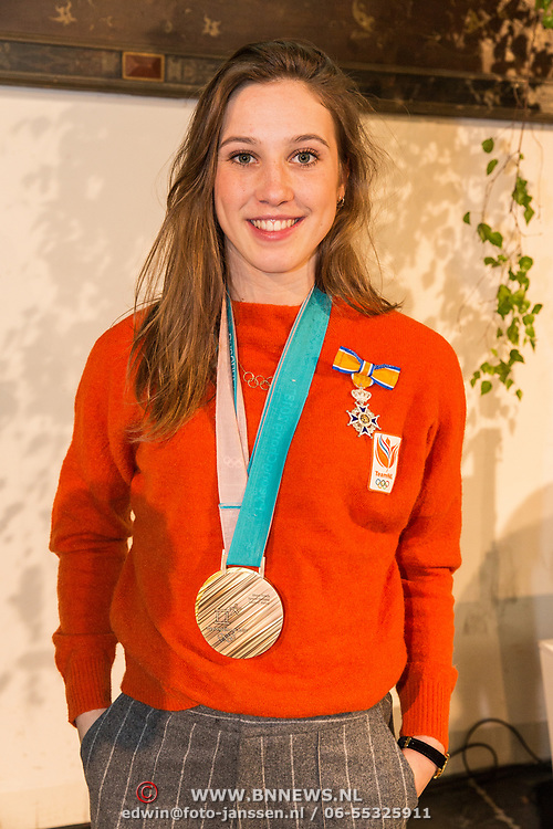 NLD/Den Haag/20180323 - Huldiging Olympische en Paralympische medaillewinnaars, Suzanne Schulting