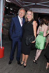 HAROLD TILLMAN and BARBARA HORSBOOL at Tunnel of Love - a fashion & art party in aid of The British Heart Foundation held at The Proud Gallery, Camden, London on 29th May 2012.