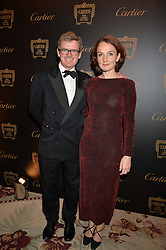 MARCUS & AMBER ARMYTAGE at the 26th Cartier Racing Awards held at The Dorchester, Park Lane, London on 8th November 2016.