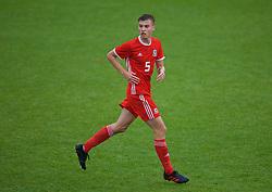 NEWPORT, WALES - Monday, October 14, 2019: Wales' Ryan Astley during an Under-19's International Friendly match between Wales and Austria at Dragon Park. (Pic by David Rawcliffe/Propaganda)