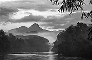 The Kelani River, the countries second longest river.