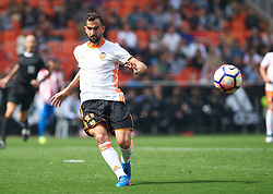 March 11, 2017 - Valencia, Valencia, Spain - Martin Montoya of Valencia CF during their La Liga match between Valencia CF and Real Sporting de Gijon at the Estadio de Mestalla on 11 March 2017 in Valencia, Spain. (Credit Image: © Maria Jose Segovia/NurPhoto via ZUMA Press)