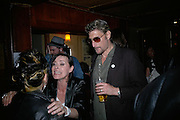 Nick Reynolds from Alabama 3, Exhibition of photographs by NME photographer Lawrence Watson. Studio 2. Redchurch St. London. 26 April 2007.  -DO NOT ARCHIVE-© Copyright Photograph by Dafydd Jones. 248 Clapham Rd. London SW9 0PZ. Tel 0207 820 0771. www.dafjones.com.