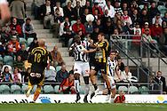 14.06.2007, Veritas Stadion, Turku, Finland..Veikkausliiga 2007 - Finnish League 2007.TPS Turku - FC Honka.Armand One (TPS) v Tuomo Turunen (Honka).©Juha Tamminen.....ARK:k