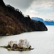 Island House, Lovrafjorden, Norway