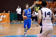 DESCRIZIONE : Sarajevo Nazionale Italia Uomini Torneo Internazionale di Sarajevo Italia Bosnia Erzegovina Italy Bosnia and Herzegovina<br /> GIOCATORE : Andrea De Nicolao<br /> CATEGORIA : Palleggio Schema<br /> SQUADRA : Italia Italy<br /> EVENTO : Trofeo Internazionale di Sarajevo<br /> GARA : Italia Bosnia Erzegovina Italy Bosnia and Herzegovina<br /> DATA : 19/07/2014<br /> SPORT : Pallacanestro<br /> AUTORE : Agenzia Ciamillo-Castoria/GiulioCiamillo<br /> Galleria : FIP Nazionali 2014<br /> Fotonotizia : Sarajevo Nazionale Italia Uomini Torneo Internazionale di Sarajevo Italia Bosnia Erzegovina Italy Bosnia and Herzegovina