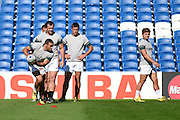 Bryan Habana during the South Africa Captain's Run training session in preparation for the Rugby World Cup at the American Express Community Stadium, Brighton and Hove, England on 18 September 2015. Photo by David Charbit.