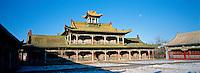 Mongolie. Ulaan Batar (Oulan Bator).  Palais de Bogd Khan. // Mongolia. Ulaan Batar. Bogd Khan Palace.