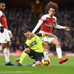 Arsenal v Huddersfield Town, Premier League, 8 December 2018