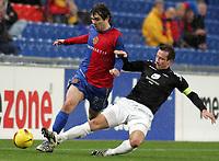 Basels Ivan Ergic gegen Brann Bergens Cato Guntveit © Giuseppe Esposito/EQ Images