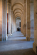 corridor in the Basilique Saint Sernin in Toulouse France