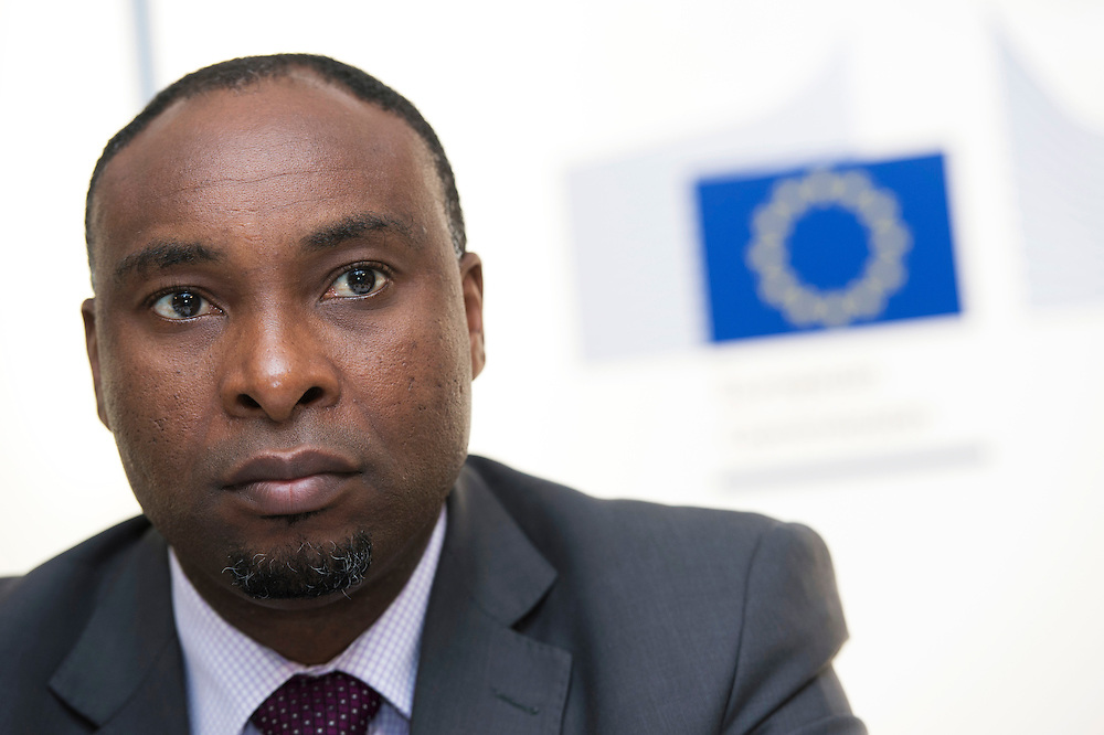 03 June 2015 - Belgium - Brussels - European Development Days - EDD - Urban - Facing up to Africa's demographic revolution - Regional approach to bridging the urban - rural divide - Anthony Simpasa , Principal Research Economist , African Development Bank Group © European Union
