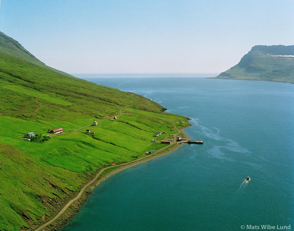 Brekka, Mjóifjörður, Mjóafjarðarhreppur.Brekka, Mjoifjordur, Mjoafjardarhreppur