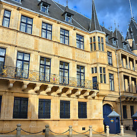 Grand Ducal Palace in Luxembourg City, Luxembourg<br />