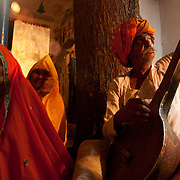 Krishna's birthday celebration in Kankarda, Rajasthan, India.