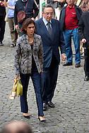 2013/05/07 Roma, funerali di Giulio Andreotti. Nella foto Gianni De Michelis..Rome, funerals of Giulio Andreotti. In the picture Gianni De Michelis - © PIERPAOLO SCAVUZZO