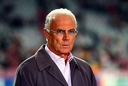 Munich, Germany - Wednesday, March 7, 2007: Bayern Munich's Franz Beckenbauer during the UEFA Champions League First Knock-out Round 2nd Leg at the Allianz Arena. (Pic by Christian Kolb/Propaganda/Hochzwei) +++UK SALES ONLY+++