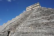 Messico in Viaggio, Chichen Itzá è un importante complesso archeologico maya situato nel Messico, nel nord della penisola dello Yucatan, 22 Novembre 2016 © foto Daniele Mosna