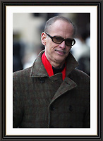 BALTIMORE FILM MAKER JOHN WATERS  STROLLING DOWN PARK LANE LONDON<br /> Limited Edition A4 Archive Framed Print